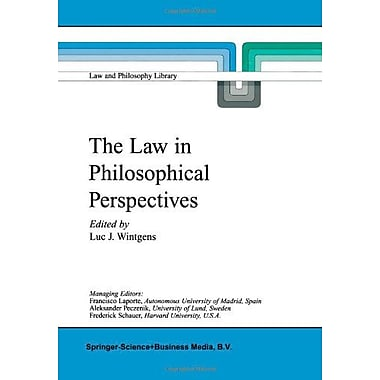 The Law In Philosophical Perspectives My Philosophy Of Law Law And Philosophy Library Volume 41, New Book (9789048152568)