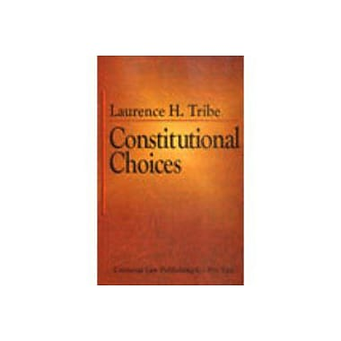 Constitutional Choices, New Book (9788175341739)