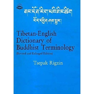 Tibetan English Dictionary Of Buddhist Terminology Revised And Enlarged Edition, New Book (9788185102887)