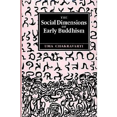 Social Dimensions Of Early Buddhism, New Book (9788121507493)