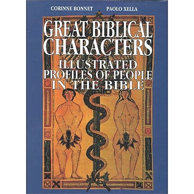 Great Biblical Characters Illustrated Profiles Of People In The Bible, New Book (9788873010500)