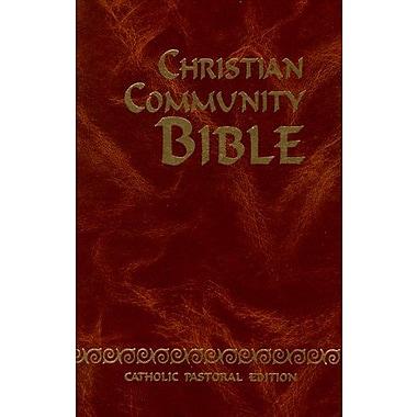 Christian Community Bible Catholic Pastoral Edition, New Book (9788428520492)