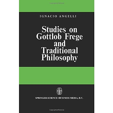 Studies On Gottlob Frege And Traditional Philosophy, New Book (9789048183265)