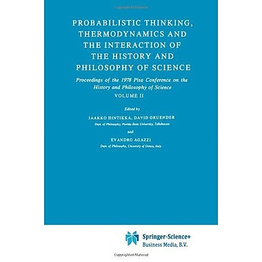 Probabilistic Thinking Thermodynamics And The Interaction Of The History And Philosophy Of Science Pro, New Book (9789048183616)