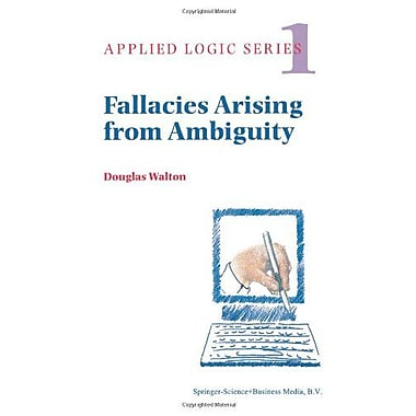 Fallacies Arising From Ambiguity Applied Logic Series, New Book (9789048147175)