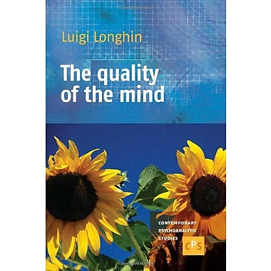 The Quality Of The Mind Contemporary Psychoanalytic Studies, New Book (9789042034853)