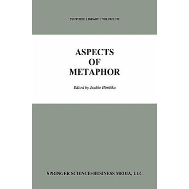 Aspects Of Metaphor Synthese Library, New Book (9789048143856)