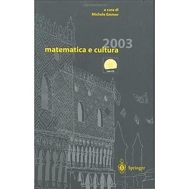 Matematica E Cultura 2003 Italian Edition, New Book (9788847002104)