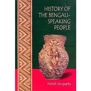 History Of The Bengali-Speaking People, New Book (9788174763556)