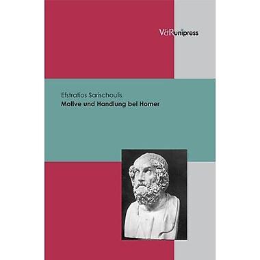 Motive Und Handlung Bei Homer, New Book (9783899714937)