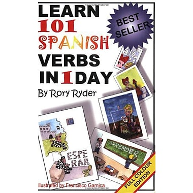 Learn 101 Spanish Verbs In 1 Day, New Book (9788460796374)