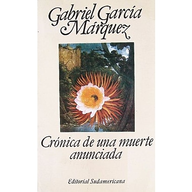 Cronica De Una Muerte Anunciada Spanish Edition, New Book (9789500704281)