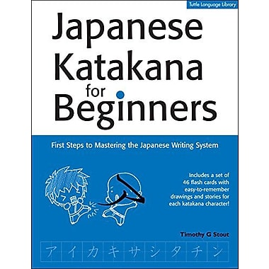 Japanese Katakana For Beginners First Steps To Mastering The Japanese Writing System Tuttle Language L, New Book (9784805308783)