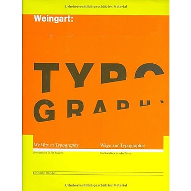 Wolfgang Weingart My Way To Typography, New Book (9783907044865)