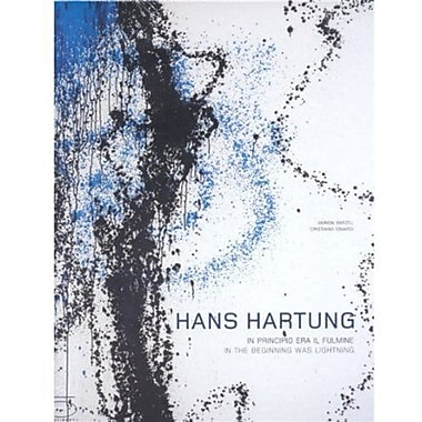 Hans Hartung In The Beginning Was Lightning, New Book (9788874392438)