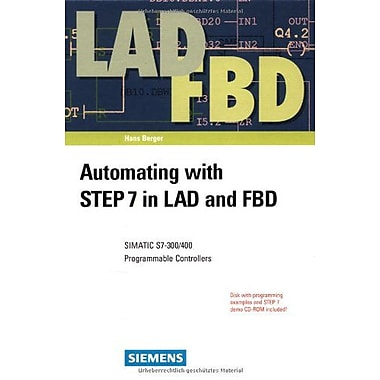 Automating With Step 7 In Lad And Fbd Simatic S7-300400 Programmable Controllers, New Book (9783895781704)