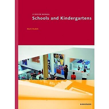 Schools And Kindergartens Design Manuals, New Book (9783764381264)