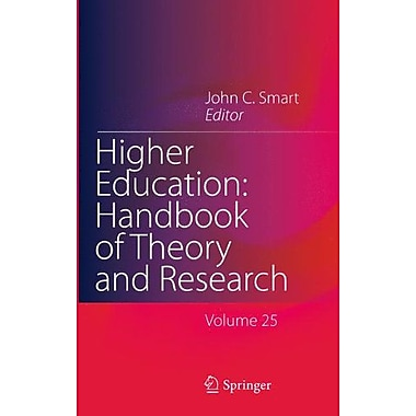 Higher Education Handbook Of Theory And Research Volume 25, New Book (9789400704220)