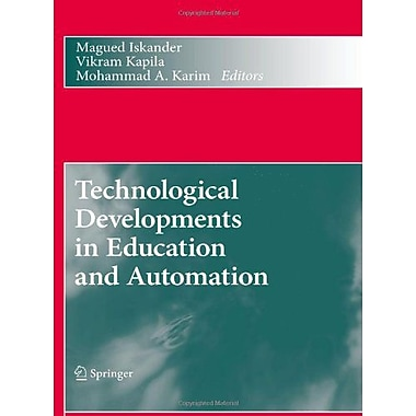 Technological Developments In Education And Automation, New Book (9789048136551)