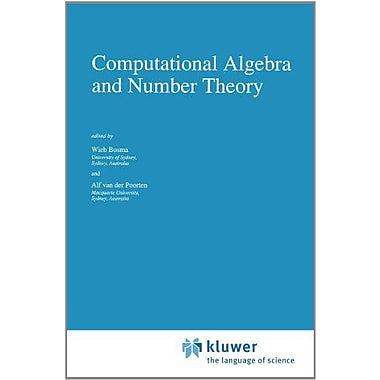 Computational Algebra And Number Theory Mathematics And Its Applications, New Book (9789048145607)