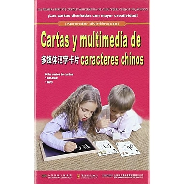 Cartas Y Multimedia De Caracteres Chinos Chinese Language Learning For Foreigners Spanish Edition Span, New Book (9787802002210)