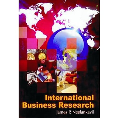International Business Research, New Book (9788182743465)