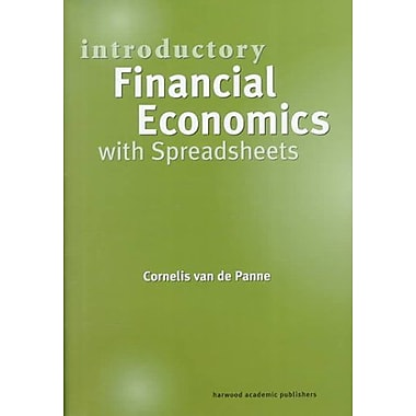 Introductory Financial Economics With Spreadsheets, New Book (9789057023644)