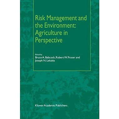 Risk Management And The Environment Agriculture In Perspective, New Book (9789048161584)