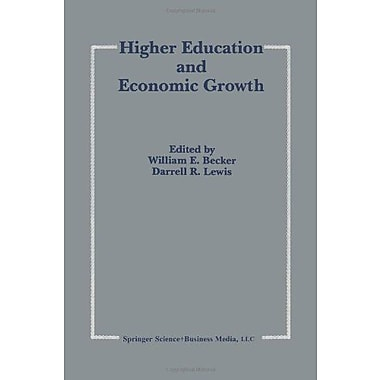 Higher Education And Economic Growth, New Book (9789048157921)