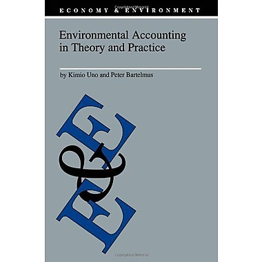 Environmental Accounting In Theory And Practice Economy Amp Environment, New Book (9789048148516)