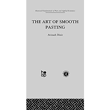 Art Of Smooth Pasting Fundamentals Of Pure And Applied Economics, New Book (9783718653843)