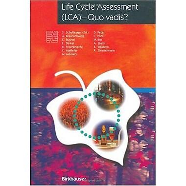 Life Cycle Assessment Lca Quo Vadis? Themenhefte Schwerpunktprogramm Umwelt, New Book (9783764353414)