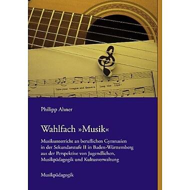 Wahlfach Musik German Edition, New Book (9783844803860)