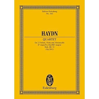 String Quartet Op201 E Flat Major Hob Iii31 Study Score, New Book (9783795771157)