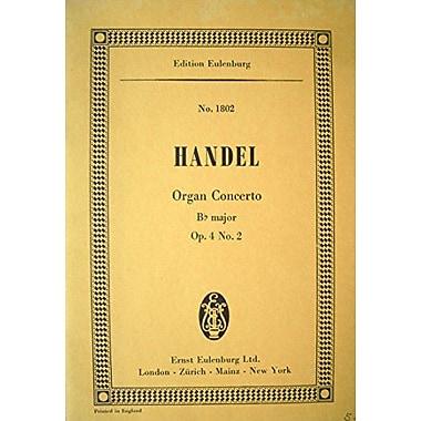 Organ Concerto Op42 B-Flat Major Study Score Organ And Orchestra, New Book (9783795764487)