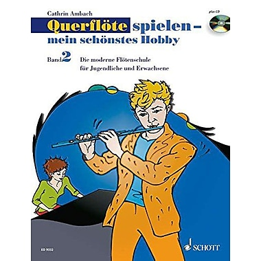 Flute Playing - My Most Beautiful Hobby Volume2 - Mein Schonstes Hobby Book And Cd, New Book (9783795756222)