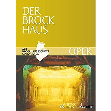 Der Brockhaus Oper Brockhaus Schott Operncards German Text, New Book (9783795700430)