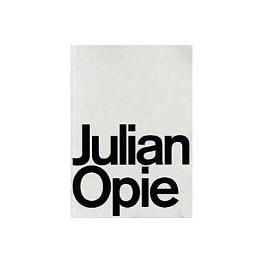 Julian Opie English And Japanese Edition, New Book (9783857800788)