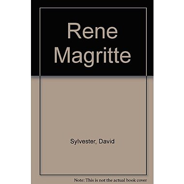Rene Magritte Catalogue Raisonne Vol 1 Oil Paintings 1916-1930, New Book (9789061532743)