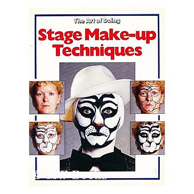 The Art Of Doing Stage Make-Up Techniques, New Book (9789065770189)
