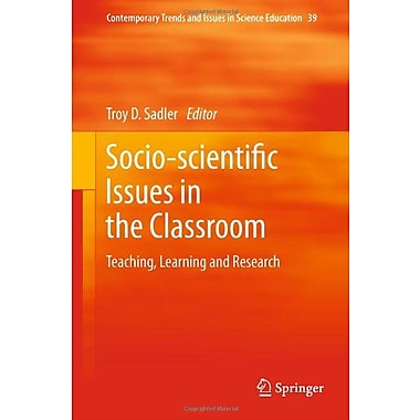 Socio-Scientific Issues In The Classroom Teaching Learning And Research Contemporary Trends And Issues, New Book (9789400711587)