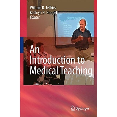 An Introduction To Medical Teaching, New Book (9789048136407)
