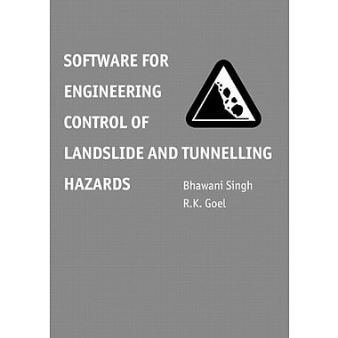 Software For Engineering Control Of Landslide And Tunnelling Hazards, New Book (9789058093608)