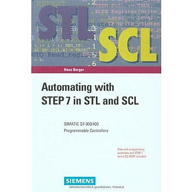 Automating With Step 7 In Stl And Scl Simatic S7-300400 Programmable Controllers, New Book (9783895781698)