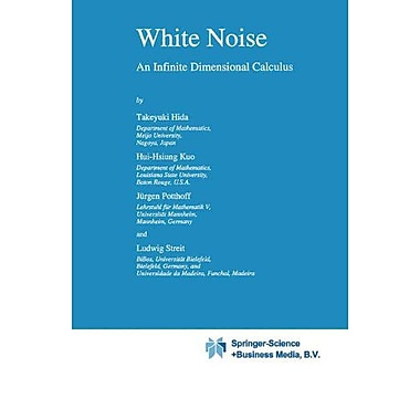 White Noise An Infinite Dimensional Calculus Mathematics And Its Applications, New Book (9789048142606)
