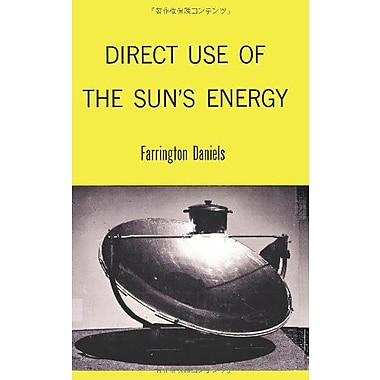 Direct Use Of The Suns Energy, New Book (9784871877121)
