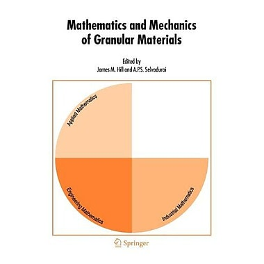 Mathematics And Mechanics Of Granular Materials, New Book (9789048169641)