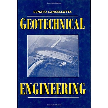 Geotechnical Engineering, New Book (9789054101789)