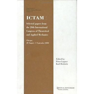 Ictam2000 Ictam Proceedings Of The International Congress Of Theoretical And Applied Mechanics, New Book (9789026518126)