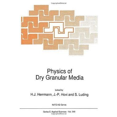 Physics Of Dry Granular Media Nato Science Series E, New Book (9789048150397)